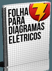 Folha Quadriculada para Diagramas Elétricos